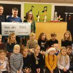 Fynske Bank støtter med kr. 25.000,-